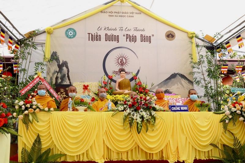 """Lâm Đồng: Trang nghiêm tổ chức Lễ Khánh tạ Thiền đường """"PHÁP ĐĂNG"""" tại Tịnh xá Ngọc Cảnh"""